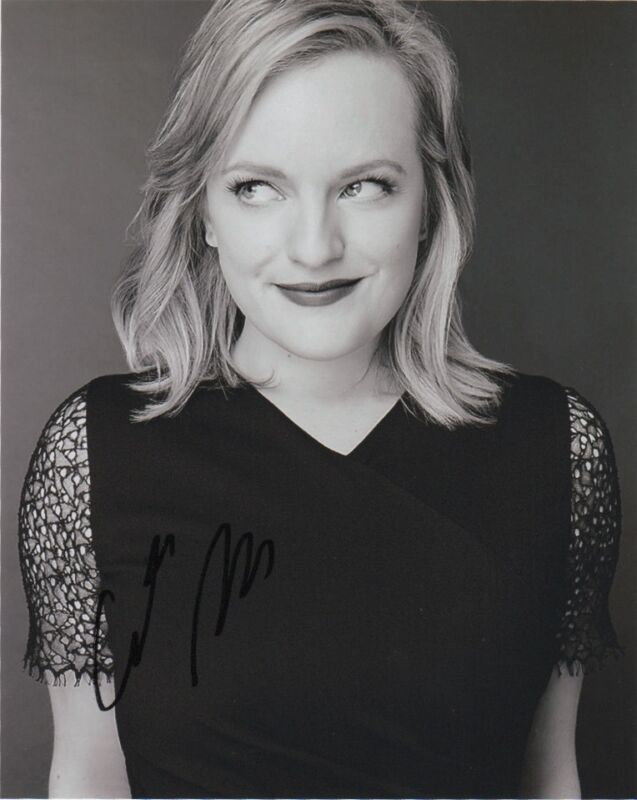 Elisabeth Moss Autographed Signed 8x10 Photo COA #2