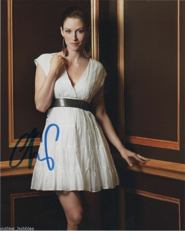 Chyler Leigh Supergirl Autographed Signed 8x10 Photo COA #5