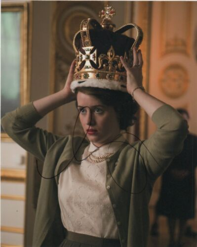 Claire Foy The Crown Autographed Signed 8x10 Photo COA #O13