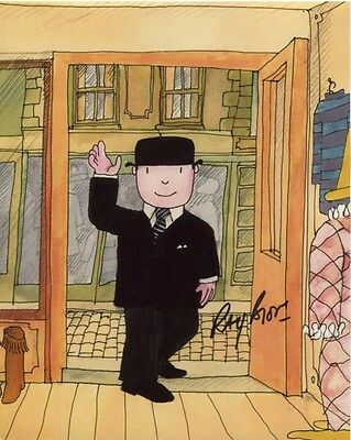 Ray Brooks Photo Signed In Person - The Voice of Mr Benn - C140