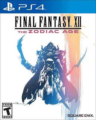 Final Fantasy Xii  The Zodiac Age Ps4  Factory Refurbished