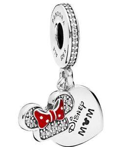 New Pandora Bead Disney Parks Exclusive Dangle Charm DISNEY MOM MINNIE MOUSE
