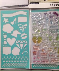 Stamp and stencil set