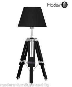 Nouveau tr pied lampe de table lampe de table de for Lampe de chevet style anglais