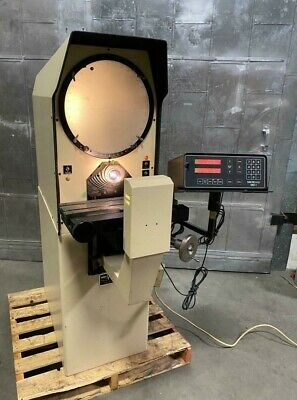 Micro Vu Model H 14 Optical Comparator With Xy Digital Read Out 14