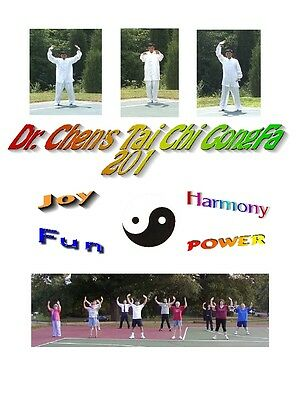 Dr. Chen's Tai Chi Qigong workout DVD Video level 2, Tai Chi Video  Instruction