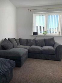 BRANDED NEW BYRON/DYLAN JUMBO CORDED CORNER OR 3+2 SEATER NOW AVAILABLE IN STOCK
