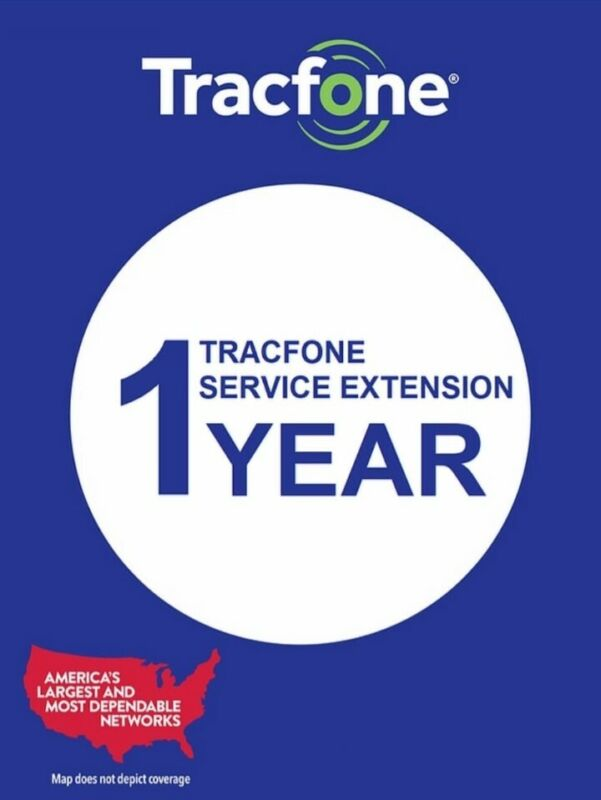TracFone 1 Year Plan Service (Smartphone Only)