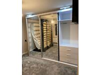 ⚜️⚜️!!! CLEARANCE SALE !!!⚜️⚜️ ON BRAND NEW MDF QUALITY MIRRORED SLIDING DOOR WARDROBES✨✨