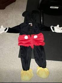 Mickey Mouse Dress up 2-3 Years