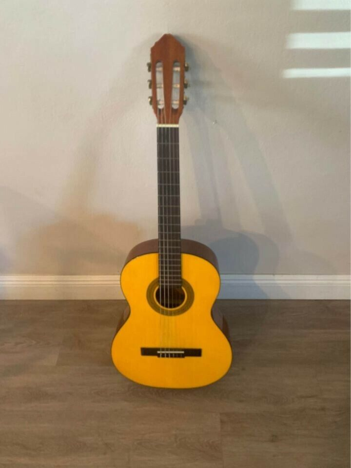 Nylon-Stringed Classical Guitar Gently Used Unknown Manufacturer  - $40.00
