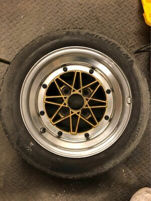 Pair of JDM Work Equip Excel 03 alloy wheels 14x7 4x114.3 AE86 S13 180SX 240Z