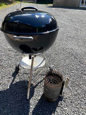 Weber 57cm Compact Kettle Charcoal Barbecue - Black (1321004)