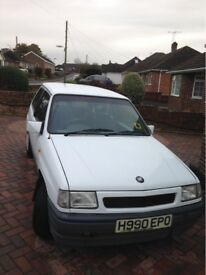 * ATTENTION CLASSIC CAR ENTHUSIASTS! * - 1991 Vauxhall Nova Flair 3dr For Sale!