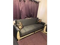 Branded 3+2 Set Sultan Sofa Bed II Corner Sofa Bed II Different Colors Available II