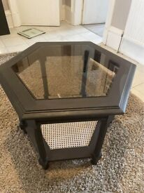 Rattan/Cane Coffee Table or Side table