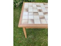 Bespoke made solid oak - strong, dining or card gaming table