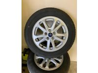 NEW * FORD TRANSIT CONNECT 16 ALLOYS & TYRES