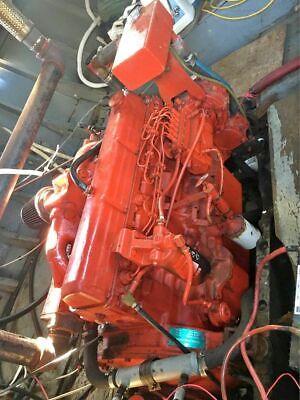 Lehman Marine Diesel Engine 135 Hp With Borg Warner Gear