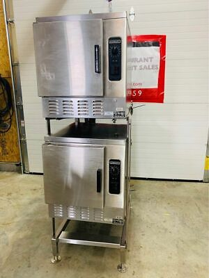Double Stack Hobart Hc24ea5-3 Ph Electric Convection Steamer - Professional Cont