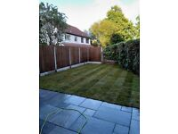 Fencing , slabbing , turfing ,artificial grass