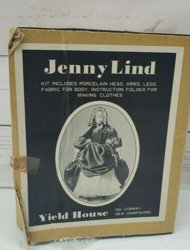 Yield House Jenny Lind Doll Making Kit No 3009255