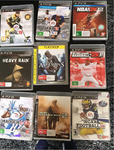 PlayStation 3 Games PS3 $10ea Chadstone Monash Area Preview