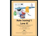 Ironing & washing service