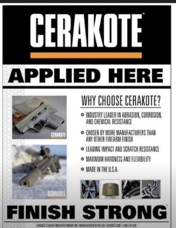 Cerakote Coating Services (READ)