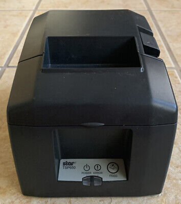 Star Micronics Tsp650 Receipt Printer No Cables Or Accessories - Free Ship