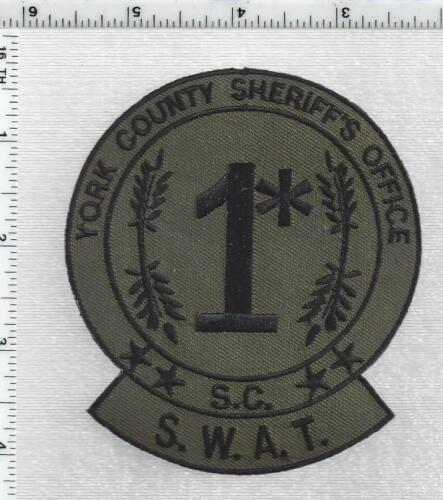 York County Sheriff SWAT (South Carolina) 1st Issue Subdued Shoulder Patch