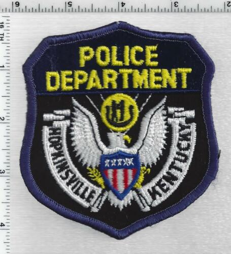 Hopkinsville Police (Kentucky) 2nd Issue Shoulder Patch