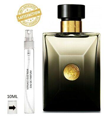 Versace Oud Noir 10ml Spray Sample Eau De Parfum - 100% GENUINE -NOT 5ml
