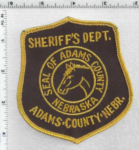 Adams County Sheriff (Nebraska) 2nd Issue Shoulder Patch