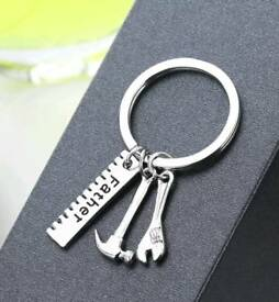 Father tool keyring