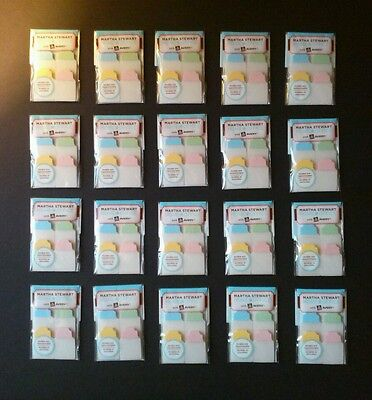 Martha Stewart Home Office Notetabs 40ct ~Avery Lot of 20 Discontinued