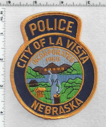 City of La Vista Police (Nebraska) 2nd Issue Shoulder Patch
