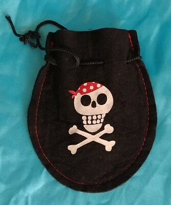 Posh & Plush Delux Pirate Coin Purse Pirates of the Carribean Costume item](Carribean Costumes)