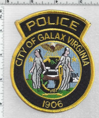 City of Galax Police (Virginia) 2nd Issue Shoulder Patch