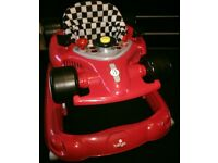 Babylo Racer 500 Baby Walker in Red