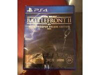 Star Wars Battlefront 2 Elite Trooper Deluxe Edition PS4 BRAND NEW SEALED