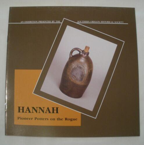 GUIDE rare Oregon HANNAH POTTERY ~ Josiah from Caldwell, Missouri Pottersville