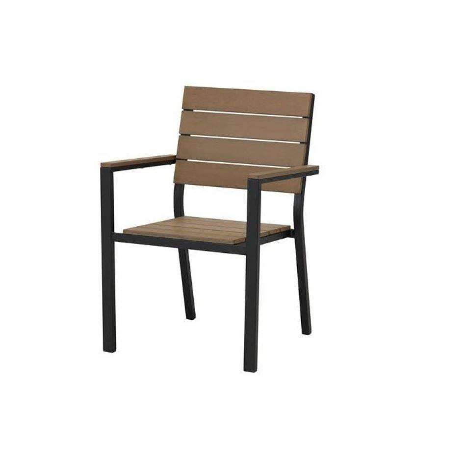 Ikea Falster Gartenstuhl Ersatzbrett Braun - 1 Ersatzbrett für die Sitzfläche