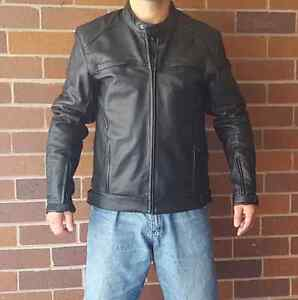 Motorcycle Jacket Leather size L Torque brand Arncliffe Rockdale Area Preview