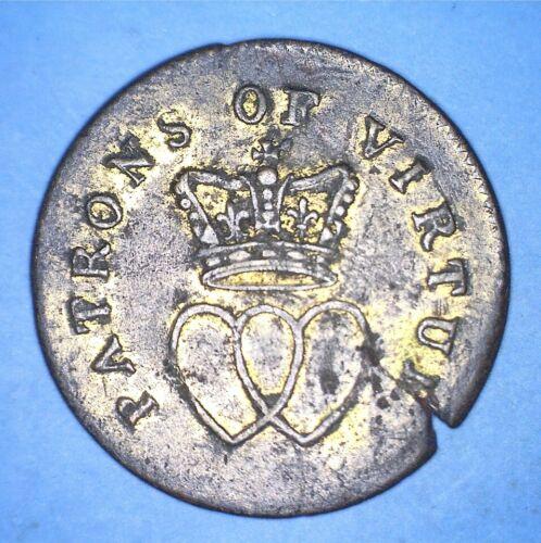 (1790) PATRONS OF VIRTUE (CONJOINED HEARTS) GEORGIUS III & CHARLOTTE - *72933656