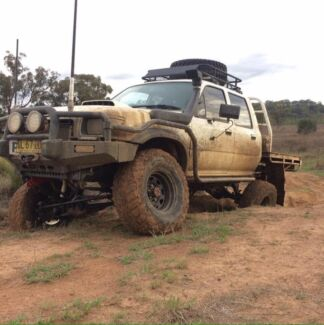 Ln106 td - hilux swap for worked ss