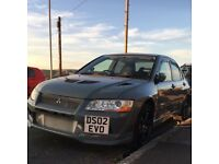 Mitsubishi evo 7