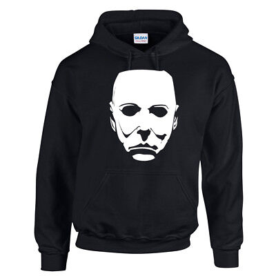 alloween HOODIE HOODY Horror Movie Cult Classic Retro Film (Halloween Film Mike Myers)