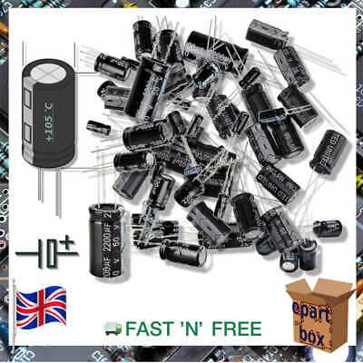 Electronic Electrolytic Round Capacitor 1uf - 100uf 6.3v-400v -40105 Celsius
