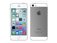 iPhone 5s silver 16gb *as new*